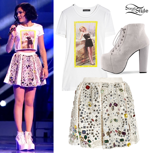 Jessie J: The Voice UK Performance Outfit