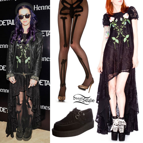 Katy Perry 2012 Coachella Outfit