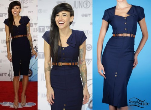 LIGHTS: 2012 Juno Awards Dress