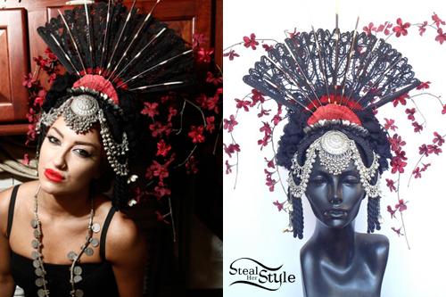 Neon Hitch: Fan Headdress