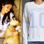 Selena Gomez Wildfox sweater