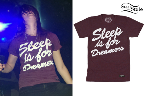 Tay Jardine: Sleep is for Dreamers Tee