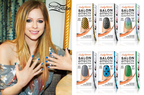 Avril Lavigne: Sally Hansen Nail Strips