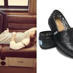 Christina Perri TOMS shoes