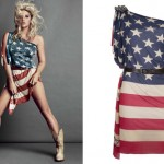 Kesha: American Flag Dress