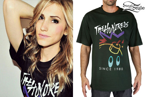 Mindy White: The Hundreds T-Shirt