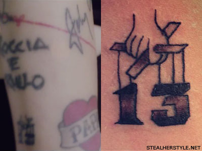 Christina Perri The Godfather 13 tattoo