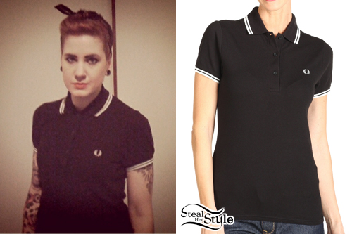 Beth Lucas: Fred Perry Twin Tipped Polo Shirt
