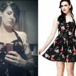 Beth Lucas: Hell Bunny Rocket Zombie Dress
