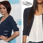 Cher Lloyd: Cable Knit Cardigan