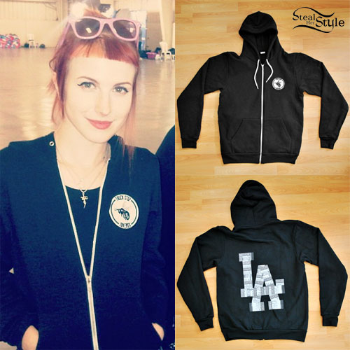 Hayley Williams: Truck Stop Jukebox Hoodie