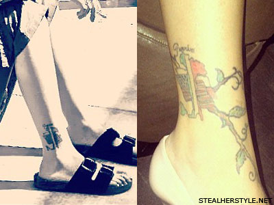 Christina Perri Italy tattoo