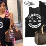 Melissa Marie Green: Millionaires Tank Top, Louis Vuitton Bag