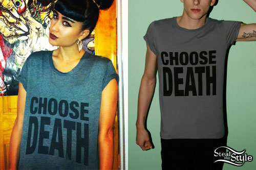 Natalia Kills: Choose Death T-Shirt
