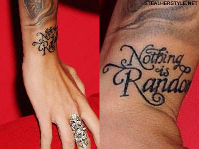 059374f4a Christina Perri's Tattoos & Meanings | Steal Her Style