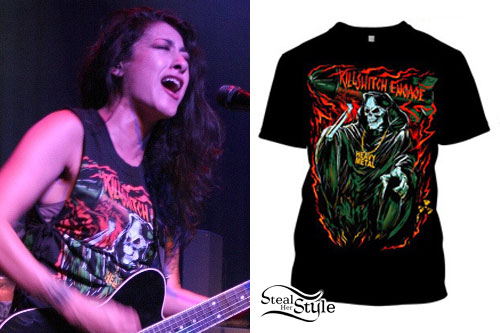 Alexia Rodriguez: Killswitch Engage T-Shirt