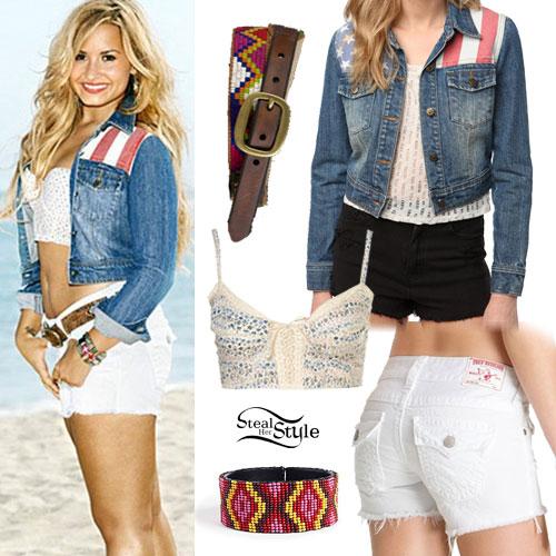 Demi Lovato: SELF Magazine Outfit