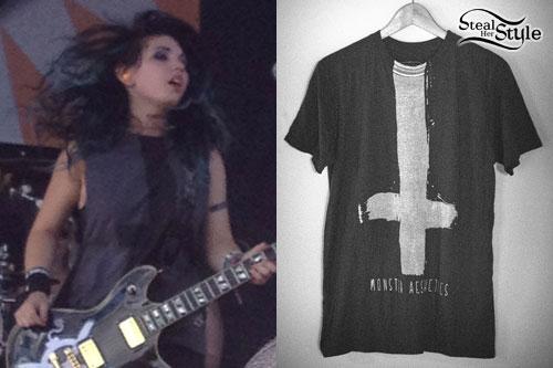 Julia Pierce: Cross T-Shirt