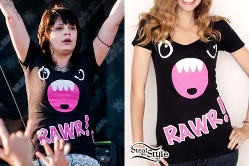 Krysta Cameron: Rawr T-Shirt