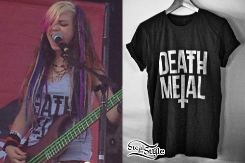 Rena Lovelis: Death Metal Tank Top