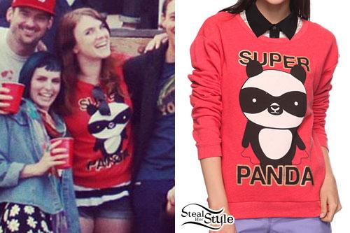 Victoria Asher: Super Panda Sweatshirt