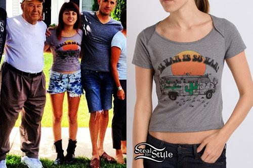 Anissa Rodriguez: Vans T-Shirt