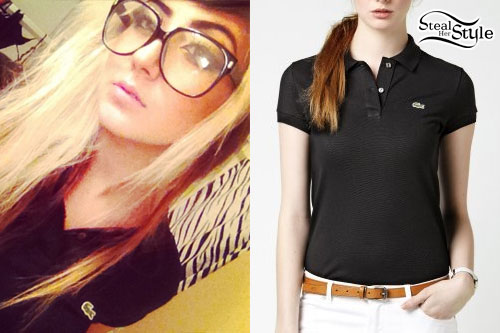 Allison Green: Lacoste Polo Shirt