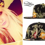 Allison Green: Tropical Print Hat