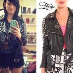 Jacqui Sandell: Studded Leather Jacket