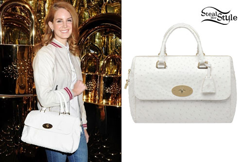 Lana Del Rey: Mulberry 'Del Rey' Bag