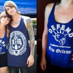 LIGHTS: Defend New Orleans Tank Top