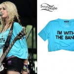Miranda Miller: I'm With The Band Tee