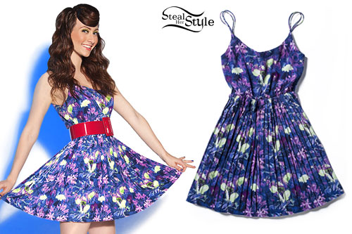 Amy Heidemann: Floral Dress
