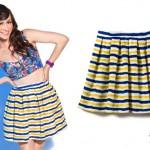 Amy Heidemann: Striped Skirt