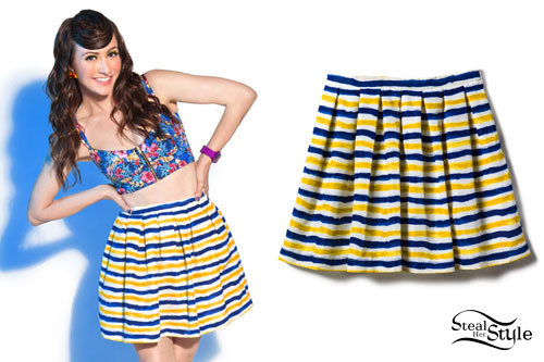 Amy Heidemann: Striped Skirt