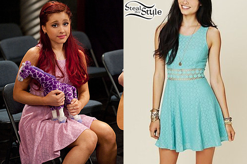 Cat Valentine (: ariana grande i love her shes so great ...   Ariana Grande Victorious Outfits