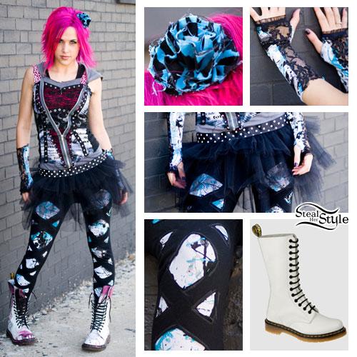 Ariel Bloomer: Tutu Outfit
