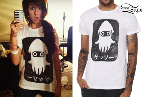 Christina Grimmie: Blooper T-Shirt