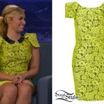Demi Lovato: Conan O'Brien Dress