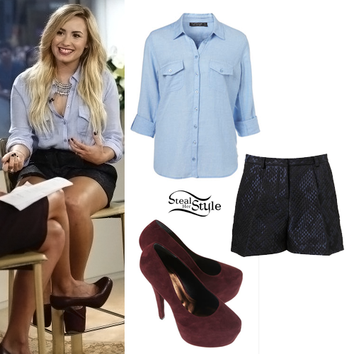 demi lovato style clothes - photo #39