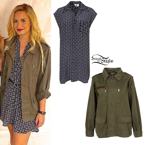 demi lovato style clothes - photo #36