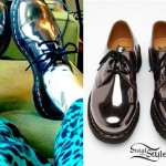 Hayley Williams: Silver Dr Martens Shoes