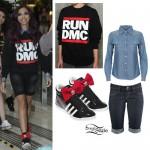 Jade Thirlwall: Run DMC Sweater Outfit