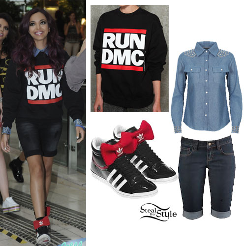 Jade Thirlwall: Run DMC Sweater Outfit