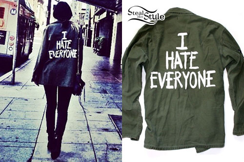 Juliet Simms: I Hate Everyone Jacket