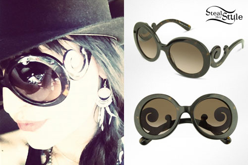 Juliet Simms: Prada Swirl Sunglasses