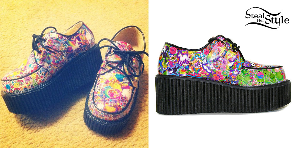 Kreayshawn Lisa Frank Creepers Steal Her Style