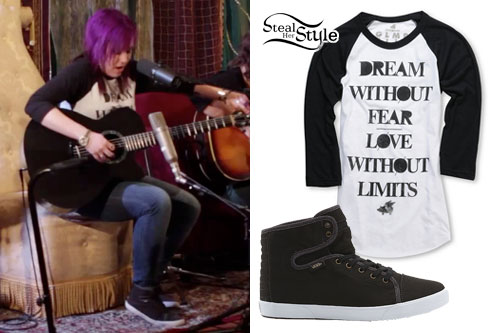 Michelle Blanchard: Dream Raglan, Vans
