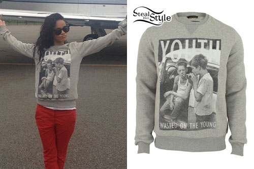 Rihanna: Youth Sweatshirt