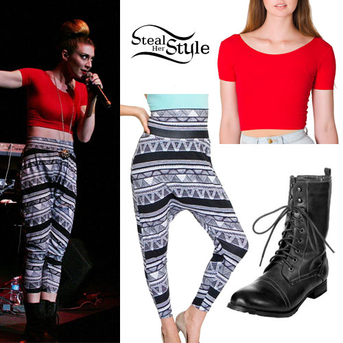 Amy Heidemann: Tribal Harem Pants Outfit